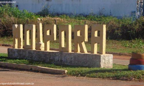 Moiporá - Letreiro na entrada da cidade