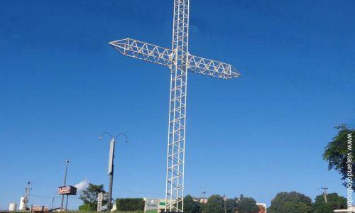 Montividiu - Cruzeiro na entrada da cidade