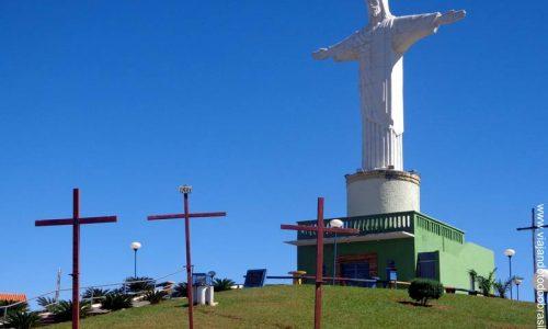Morrinhos - Imagem em homenagem ao Cristo Redentor