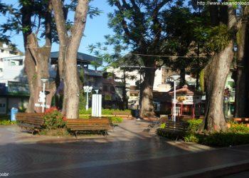 Muniz Freire - Praça Divino Espírito Santo