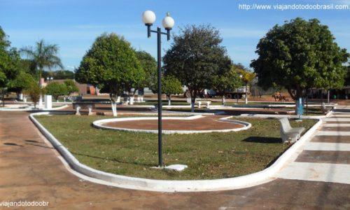 Novo Horizonte do Sul - Praça Central