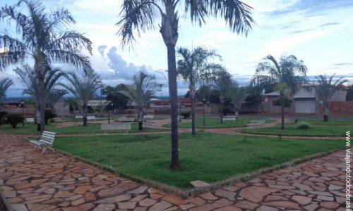 Palestina de Goiás - Praça da Prefeitura