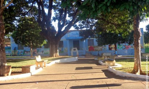 Palmelo - Praça Francisca Borges Gomide