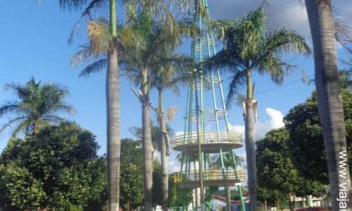 Palminópolis - Praça Albiner Teixeira Rosa