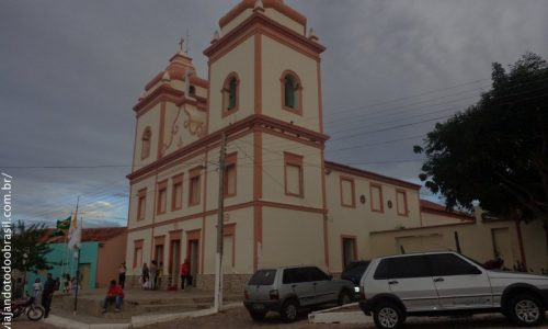 Pedra Lavrada - Igreja Nossa Senhora da Luz