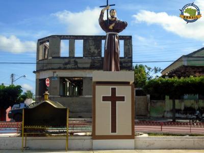 Baixio - Imagem em homenagem a São Francisco das Chagas