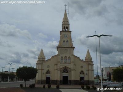 Brejo Santo - Igreja Matriz do Sagrado Coração de Jesus