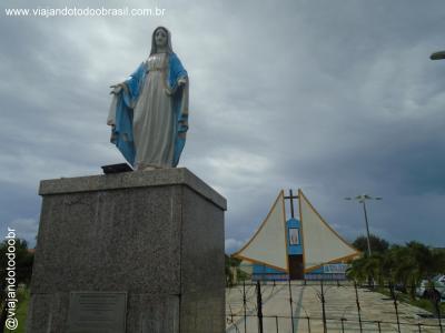 Caucaia - Imagem em homenagem a Nossa Senhora de Fátima