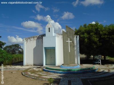 Ibicuitinga - Igreja de Santa Luzia (Antônio Pereira)
