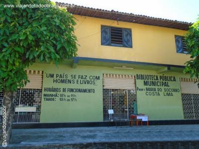 Pindoretama - Biblioteca Pública Municipal Maria do Socorro Costa Lima