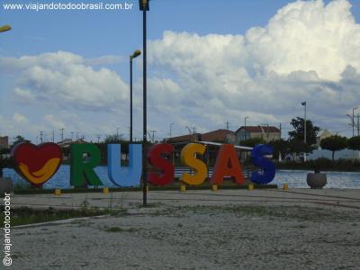 Russas - Letreiro na Lagoa da Caiçara