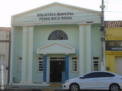 Russas - Biblioteca Pública Municipal Pedro Maia Rocha