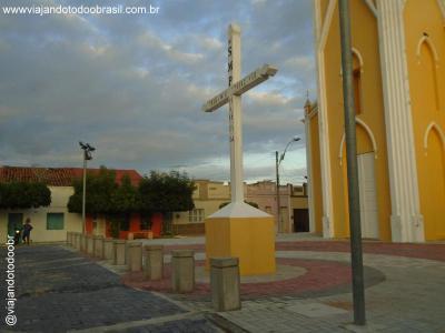 São João do Jaguaribe - Cruzeiro da Igreja Matriz de São João Batista