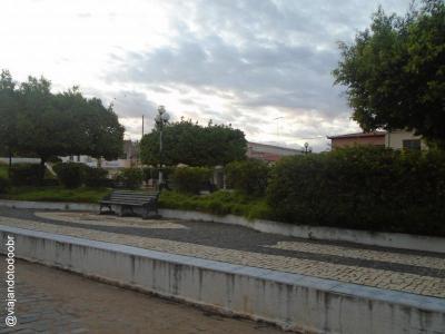 São João do Jaguaribe - Praça Fernandes Távora