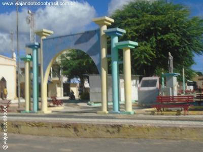Salitre - Praça da Igreja Matriz