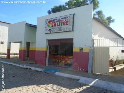 Salitre - Biblioteca Pública Municipal Maria Pureza Pereira