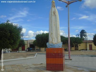 Salitre - Imagem em homenagem a Nossa Senhora de Fátima