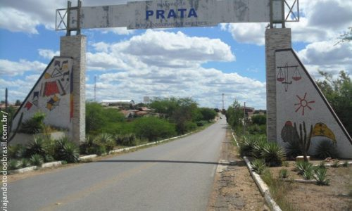 Prata - Pórtico na entrada da cidade