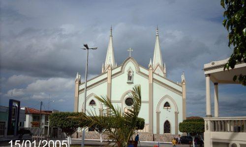 Propriá - Fundos da Igreja Catedral de Santo Antônio