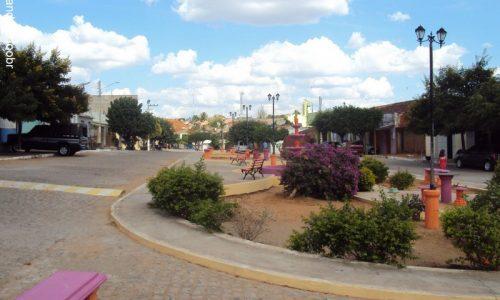 Quixaba -  Praça Nossa Senhora das Graças