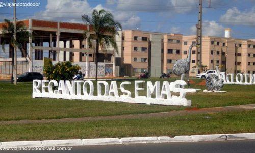 Recanto das Emas - Letreiro na entrada da cidade
