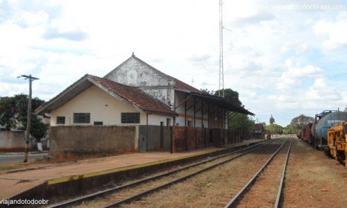 Ribas do Rio Pardo - Estação Ferroviária