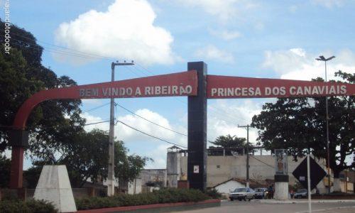 Ribeirão - Pórtico na entrada da cidade