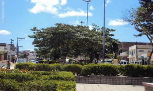 Saloá - Praça da Igreja de São Vicente de Paula