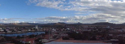 Santa Luzia - Vista parcial da cidade
