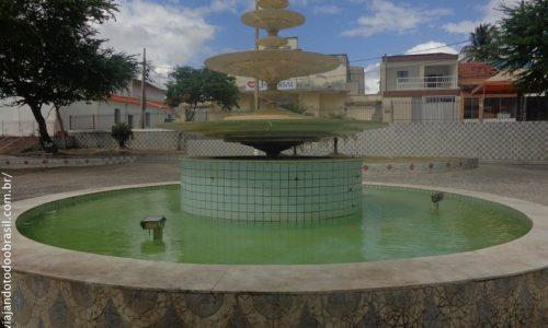 Santa Rita - Chafariz na Praça Getúlio Vargas
