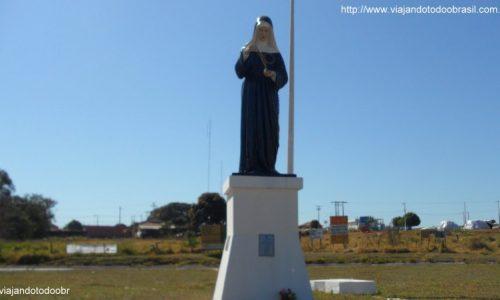Santa Rita do Pardo - Imagem em homenagem a Santa Rita