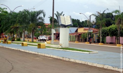 Santa Terezinha de Goiás - Praça da Bíblia