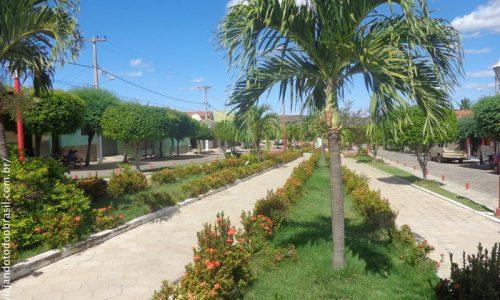 Santana de Mangueira - Praça Nossa Senhora de Santana