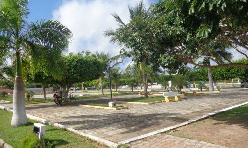 Serra Caiada - Praça Manoel Mauricio Freire