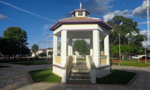 Serra Negra do Norte - Coreto da Praça Senador Dinarte Mariz