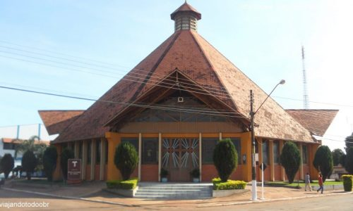 Sidrolândia - Igreja Nossa Senhora da Abadia
