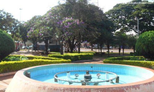 Sidrolândia - Praça Porfírio Pereira de Brito