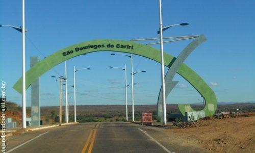 São Domingos do Cariri - Pórtico na entrada da cidade