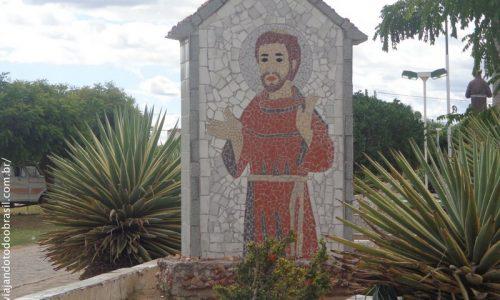 São João do Rio do Peixe - Mosaico em homenagem a São Francisco de Assis