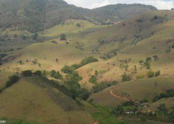 São José do Calçado - Vista a caminho de Mimoso do Sul