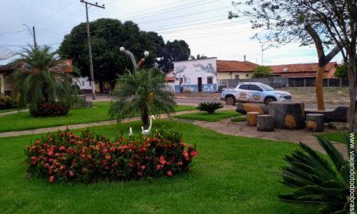 São Luiz do Norte - Praça Ramiro Manso