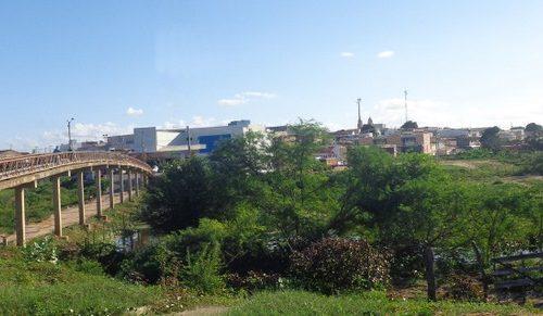 São Paulo do Potengi - Passarela sobre o Rio Potengi