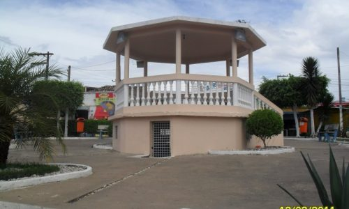 São Sebastião - Coreto da praça central