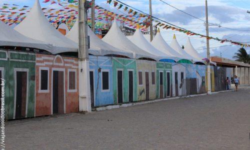 São Vicente do Seridó - Decoração de Festa Junina