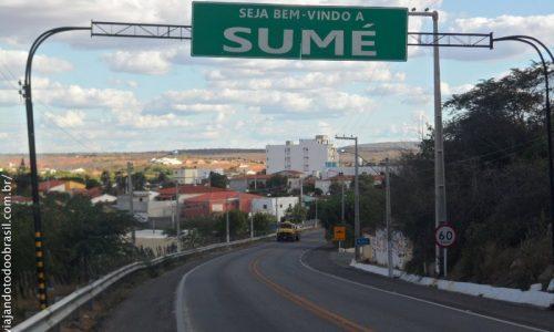 Sumé - Pórtico na entrada da cidade