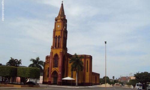 Tacaratu - Igreja Matriz de Nossa Senhora da Saúde