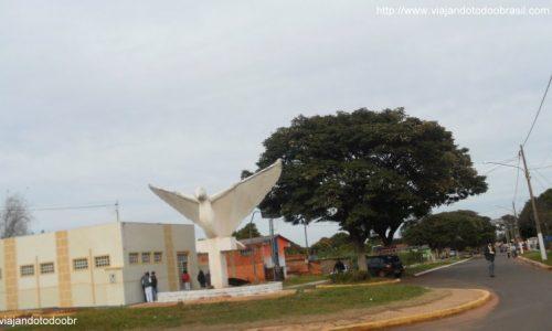 Tacuru - Ave na entrada da cidade