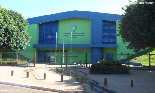 Terenos - Ginásio Municipal Alessandro Rosa Vieira