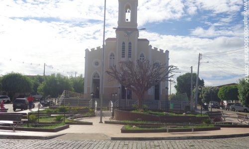 Timbaúba dos Batistas - Praça João Damasceno Batista