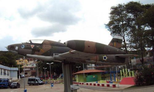 Triunfo - Avião da FAB na Academia das Cidades